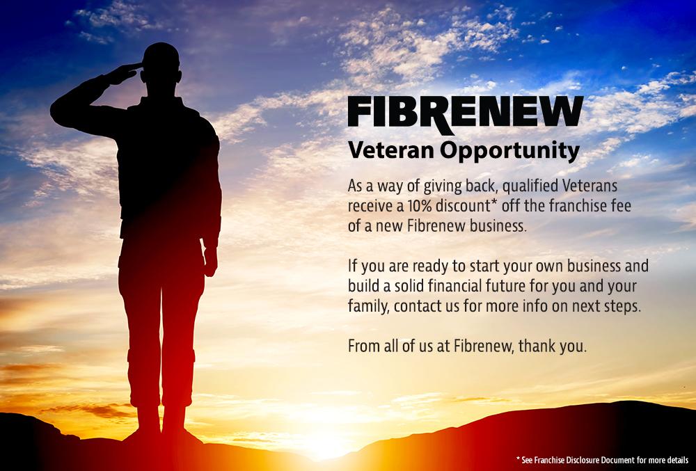 Veteran Discount Opportunity Franchise
